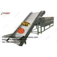 Buy cheap Commercial Vegetable and Fruit Peeling Machine|Potato Peeler Machine Price from wholesalers