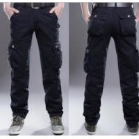 Buy cheap Popular men trousers cotton jeans Leisure pants casual pants for men from wholesalers
