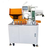 Buy cheap 18650 Battery Pack Production Automatic Insulation Paper Sticking/pasting machine,battery automatic labelling machine from wholesalers