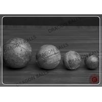 Buy cheap 2 / 3 Inch Casting Steel Ball Durable Low Breakage Good Impact Resistance from wholesalers