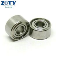 Buy cheap 3x9x5mm S603ZZ stainless steel miniature ball bearing for Motor from wholesalers