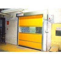 Buy cheap 304 Stainless Steel Door Frame High Speed Doors In Dust - Free Area from wholesalers
