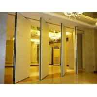 Buy cheap Multi Color Melamine Portable Folding Doors Office Partition Wall 4m Height from wholesalers