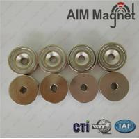 Buy cheap Neodymium disc magnets with hole wholesale from wholesalers