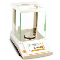 Buy cheap Analytical Balance 220g/0.1mg internal calibration touch screen panel, CE approval from wholesalers