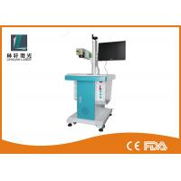 Desk Lifting Type Small Laser Marking Machine , Qr Code
