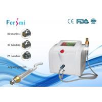 Buy cheap Fractional RF microneedle scar treatment Machine  needle depth 0~3 mm adjustable from wholesalers