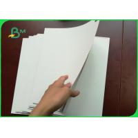 Buy cheap 250 - 400g One Side Coated White Cardboard FBB Board For Handbags from wholesalers