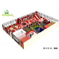 Buy cheap Colorful Theme Indoor Adventure Playground Soft / Safe For 3 - 15 Years Old product