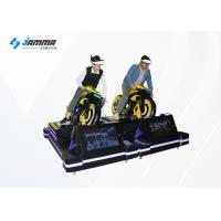 Buy cheap Card Payment VR Motorcycle Simulator With 4 Multiplayer Games / VR Moto Game Machinie from wholesalers