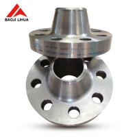 """Wholesale Gr2 Titanium Weld Neck Flange , 6"""" DN150 CL600 Chemical WNRF Flange from china suppliers"""