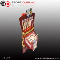Buy cheap brochure counter display standee from wholesalers