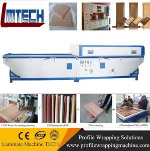Wholesale sliding wardrobe doors vacuum membrane press machine from china suppliers