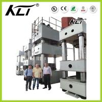 Buy cheap Three-beam Industrial Hydraulic Press , Four Column Hydraulic Metal Hole Punch Press from wholesalers