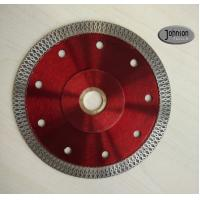 Buy cheap 125mm Sintered Ceramic Tile Saw Blades , Cyclone Mesh Turbo Diamond Blade from wholesalers