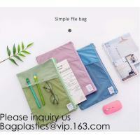 Buy cheap Big Capacity Zipper Pencil Cases with 6 Sides Pen Holder Students Pencil Case with Compartments Stationery Pencil Bags from wholesalers