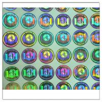 Buy cheap Custom hologram sticker labels,Security seals 3D holographic sticker ,Original Authentic Hologram Security Sticker from wholesalers