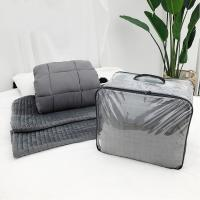 Buy cheap High quality 15lbs bamboo anxiety weighted cool blanket for summer from wholesalers