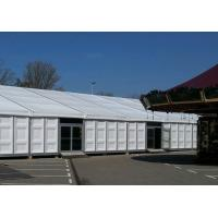 Wholesale 15m X 30m Heavy Duty Outdoor Tents Waterproof ABS Wall With Glass Door from china suppliers