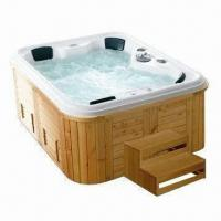 Buy cheap Whirlpool with Hydrotherapy Massage System, Super-silent Circulation Pump and CE Mark from wholesalers