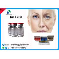 Buy cheap Injection Pepides IGF-1 LR3 For Anti-aging and Fat Loss IGF LR3 HGH Growth Hormone CAS 946870-92-4  Anti-wrinkle from wholesalers