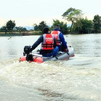Buy cheap Electric Trolling Motor Inflatable Boat Outboard Engine from wholesalers