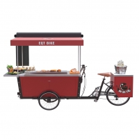 Buy cheap Hot Dog Street Vending BBQ Electric Tricycle Food Cart from wholesalers