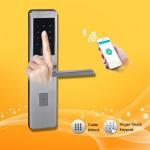 Buy cheap Keyless Password Door Lock Touch screen first-rate long warranty contactlessly mifare card door lock from wholesalers