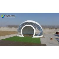 Buy cheap cheap 6m small dome house geodesic dome home camping glamping tent from wholesalers