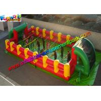 Buy cheap Commercial Inflatable Sports Games , Inflatable Football Field With PVC from wholesalers