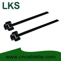Buy cheap 304 316 PPA Coated Releasable Stainless steel cable ties from wholesalers