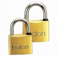 Buy cheap Heavy-duty Padlock, Made of Solid Brass from wholesalers