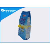 Wholesale Food Grade Stand Up Powder Packaging Bags For Whey Protein / Milk Powder Quad Seal from china suppliers