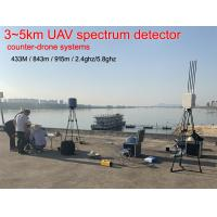 Wholesale 3~5kM 5° RMS IP65 3s Spectrum Drone Detection System from china suppliers