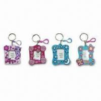 Wholesale Fancy Keychains, Made of Environment-friendly PVC, Available in Various Sizes, Designs and Shapes from china suppliers