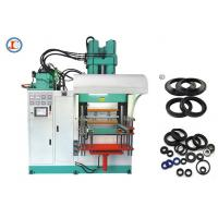 Buy cheap High Output Vertical Rubber Injection Molding Machine Low Noise 2200 * 2800 * 3500mm from wholesalers