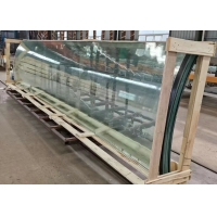 Buy cheap Curved / Bent Double Glazed Insulated Glass For Curtain Wall from wholesalers