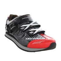 Buy cheap Athletic Sports Casual Biking Shoes Red And Black Water Resistant Anti - Collision Design from wholesalers