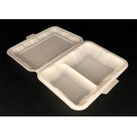 Buy cheap Good sale sugarcane bagasse paper pulp cheap disposable food box containe from wholesalers