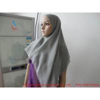 Wholesale 114* 114cut polyester voile hijab from china suppliers