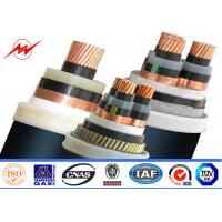 Buy cheap XLPE Insulated Steel Wire Armoured 11kv Power Cable 400/500mm² 90°C 110°C from wholesalers