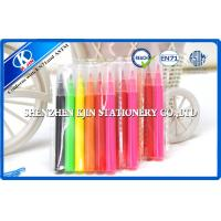 Buy cheap Kids art colored pencils / Watercolor Pen twistables With Rainbow Color from wholesalers