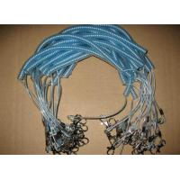Buy cheap Hote sale coiled fishing rod wire leash good quality real steel fishing lanyard tethers from wholesalers