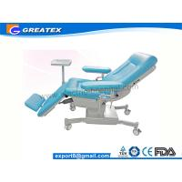 Three Section Hospital Medical Dialysis Chair / Blood Donor Chair Manufactures