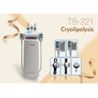 Buy cheap 5 Handles RF Ultrasound Cavitations Fat Freezing Cool Sculpting Cryolipolysis Machine from wholesalers