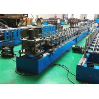 Buy cheap Roller Shutter Door Guide Track Roll Forming Machine With Low Cutting Burr from wholesalers
