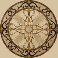 Wholesale Natural Round Marble Art Waterjet Medallions Floor Tiles from china suppliers