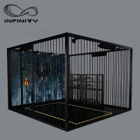 Wholesale Black Color VR Gaming Platform 9D VR Simulator Four People 12 Month Warranty from china suppliers