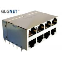 Wholesale GLGNET 2X4 10G RJ45 ICM Connector with Light pipes CAT6 Cable for 5G Network from china suppliers
