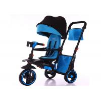 Buy cheap Kids Toy Ride On Cars Childrens Ride On Toys 3 Wheel Baby Walker Tricycle Children Baby Buggy from wholesalers